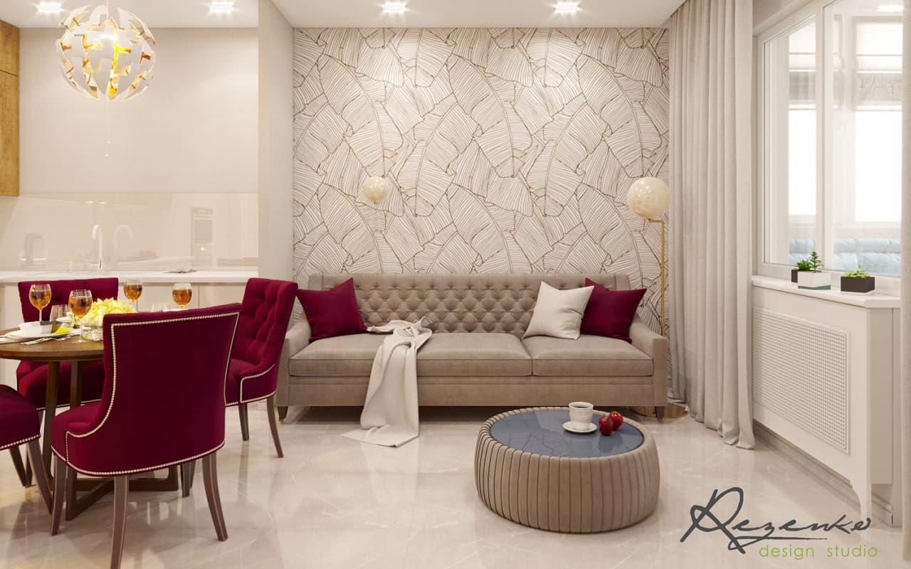 Какой заказать дизайн интерьера столовой-гостиной